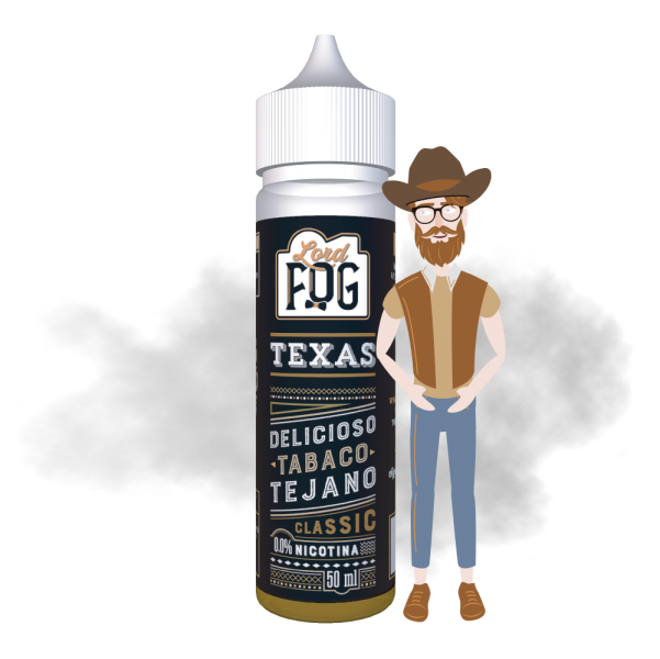 Eliquido 60ml Texas