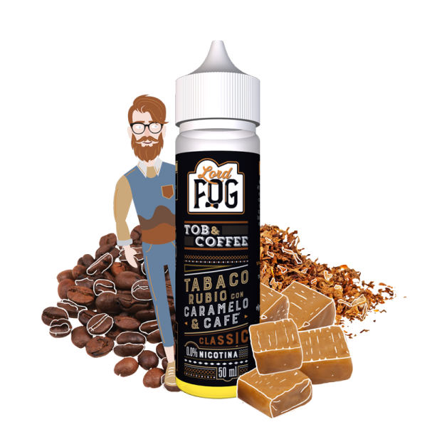 Eliquido 60ml Tob&Coffee