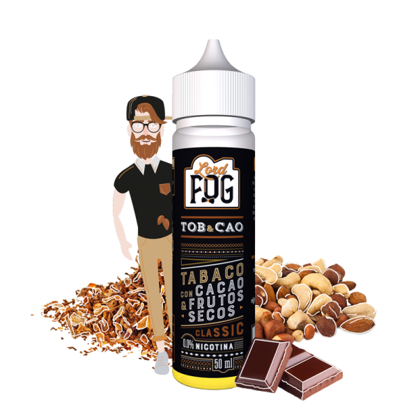 Eliquid 60ml Tob&Cao