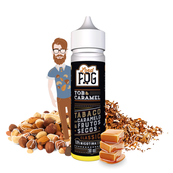 Eliquid 60ml Tob&Caramel