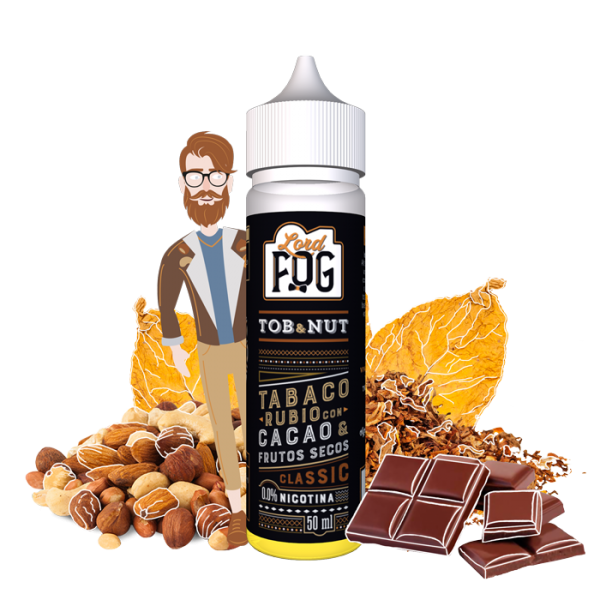 Eliquid 60ml Tob&nut